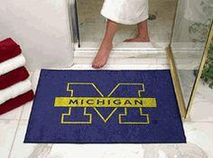 University of Michigan Wolverines All-Star Rug $50.00