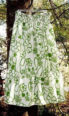 tutorial to make this cute maxi skirt, smocking too...from morning by morning productions blog.
