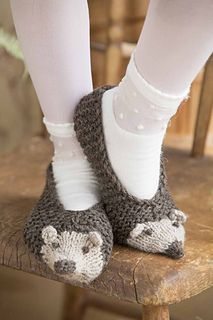 #10 Hedgehog Slippers by Pat Olski