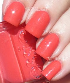 The PolishAholic: Essie Summer 2013 Collection Swatches