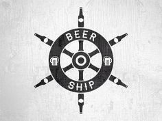 Nautical beer logo by Meydjer Luzzoli
