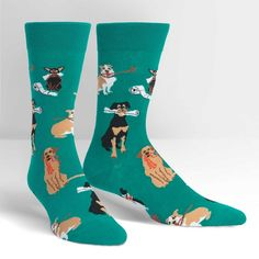 Chew on This Sock It To Me Men's Crew Socks New Novelty Puppy Dog Fashion for sale online Dog Socks, Crew Socks, Mens Novelty Socks, Sock Shop, Cat Cards, Slipper Socks, Bees Knees, New Man, Nike Dri Fit