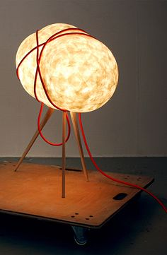 ferreol babin: Sampo.    Beech, Mino Washi paper  (Free to edition)    Sampo is a huge lamp made for the Mino Washi Akari Art, an annual exhibition which takes place in Mino, a well-known japanese city where traditional paper is still handmade.