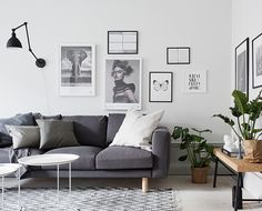 Interior styling _ tempered and warm white & gray interior: Naver Blog