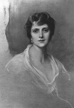 Portrait of Princess Alice of Greece by de Laszlo.