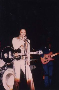July 12, 1975: Elvis performed at 8:30p.m. to a crowd of 8,400 at the Civic Center, in Charleston, West Virginia.