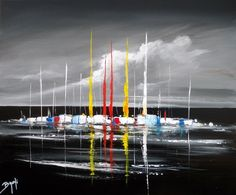 BRUNI Eric, The boats - Bruni on ArtStack #bruni-eric #art