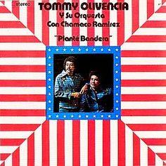 PLANTE BANDERA - TOMMY OLIVENCIA (1975) Tracklist:  1. Plante bandera 2. Casimira 3. Como novela de amor 4. A la Yumbae 5. Si estas herido 6. Evelio y la rumba 7. El amor 8. A mi pai Chango 9. Trucutu