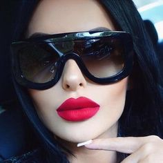 1aab1534de Newest Unique Women Sunglasses Square Glasses Vintage Big Frame Sun Glasses  Acetate Shades Gradient Eyeglasses UV400