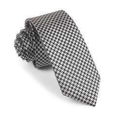 scroll pattern tie