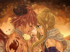 Fairy Tail, Nalu, Natsu Dragneel, Lucy Heartfilia, Love, Sad, Crying, Dragon