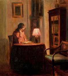 Reading and Art: Poul Friis Nybo
