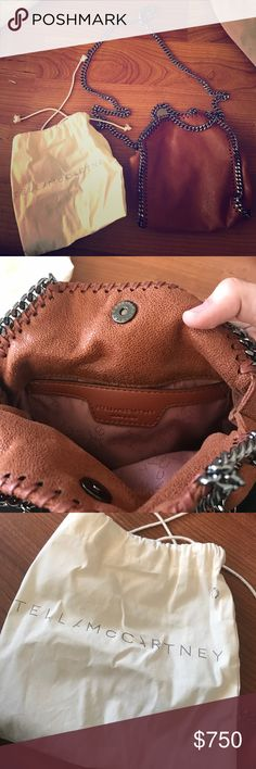 Stella McCartney Small Body Bag Brown Hello! I only used this bag once for my birthday dinner & it still looks brand new!  No stains, scuffs, nothing. Purchased from Neiman Marcus Stella McCartney Bags Crossbody Bags