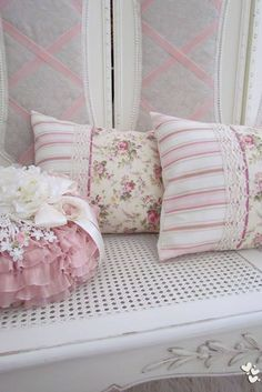Pillows - Beautiful especially for rose and pink lovers.