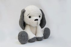 Muster: Hund Welpe Amigurumi Häkelanleitung Hund von Anatillea