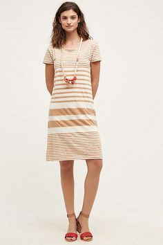 SALE (size small, black not yellow) Haven Striped Dress #anthropologie