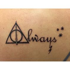 Minimalist harry potter tattoos that are pure magic 4
