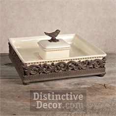 Images Of Gg Collection House Finch Bread Box
