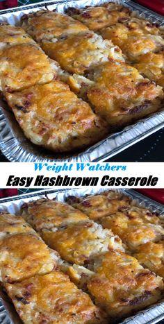 Easy Hashbrown Casserole #Easy #Hashbrown #Casserole