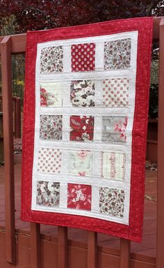 Wall Hanging quilted patchwork featuring by WarmandCozyQuilts, $45.00 #pcfteam