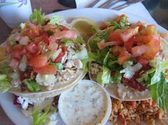 Try fish tacos. DONE! So good. . . Paia Fish Market Fish Tacos  Paia, HI