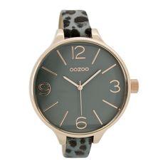 OOZOO Timepieces horloge Blauw C7157