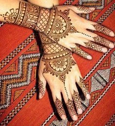 Indian Mehndi Designs For Hands