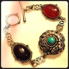 I just discovered this while shopping on Poshmark: Vintage-bohemian bracelet - LUCKY BRAND. Check it out!  Size: OS
