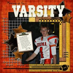 Moving up to Varsity - Scrapbook.com