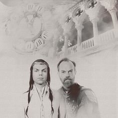 Lovely fanart of Elrond and Elros by padabee http://padabee.tumblr.com/post/42688720573/elrond-elros-requested-by-a-friend