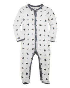 Ralph Lauren Childrenswear Infant Boys' Layette Printed Footie - Sizes 3-9 Months | Bloomingdale's