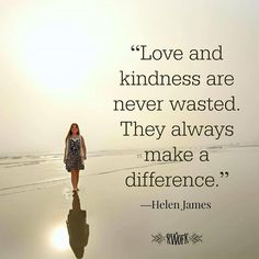 Love and kindness are never wasted. They always make a difference. They bless the one who receives them, and they bless you, the giver. Proverbs 4 23, Meaningful Quotes, Inspirational Quotes, Niv Bible, Real Followers, Photos On Facebook, Guard Your Heart, Love Quotes With Images, Meaning Of Love