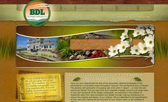 Web design for a landscape contractor in Ocean County, NJ.