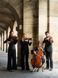 Firebyrds Quartet - Entertainment for your wedding in Paris