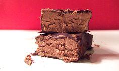 = PROTEIN POW(D)ER !: Dark Chocolate Peanut Butter Protein Bars