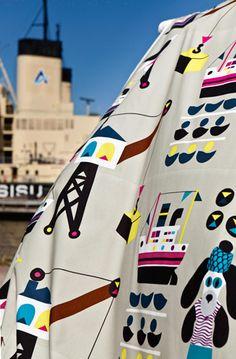 Laivakoira by Marimekko. Pattern Design by Jenni Tuominen