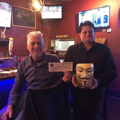 Congratulations to Team 'Triviots' for winning our Featured Brewery Prize to Dark City Brewing at Ole Tapas Bar! . . #trivianight #triviawinners #TriviaRevolution #notyouraveragetrivia #revolutioniscoming #lettherevolutionbegin #jointherevolution #revolution #guyfawkes #craftbeer #craftbeerrevolution #craftbeernotcrap #craftbeerporn #craftbeernj #njcraftbeer #drinklocal #NJCB #NJCBmember #njbeer #njbrewery #tuesdaytrivia