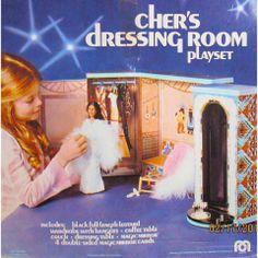 Cher's dressing room