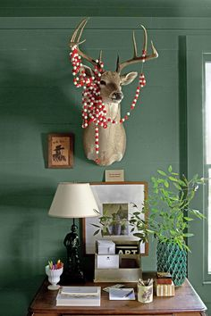 Holiday Details: Eclectic Collections | Turns out not everything is bigger in Texas—at this Fayetteville farmhouse, a graphic designer with a passion for collecting packs a ton of charm into less than 2,000 square feet. This Central Texas home still holds the charm of the country after a few fabulous additions from owner and designer Ashley Putman and her husband Steve. The Putman's brought the original charm of the home to life, incorporating rustic elements by uncovering shiplap walls and