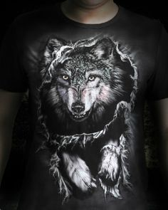 This T-shirt is vivid Wild Wolf T-shirt. The T-shirt can bring you different dynamic visual feeling.The material of this T-shirt is very comfortable and soft. Wolf 3d, Animal Print Shirts, Wolf T Shirt, Wild Wolf, 3d T Shirts, Teen Wolf, Three Dimensional, Mens Tees, Man Clothes