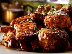 The Ultimate Sunday Gravy: Neapolitan Ragu Recipe : Tyler Florence Beef Rib Roast, Beef Ribs, Food Network Recipes, Food Processor Recipes, Sunday Gravy, Sunday Sauce, Tyler Florence, Florence Food, Ragu Recipe