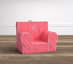 Harper Coral My First Anywhere Chair® | Pottery Barn Kids