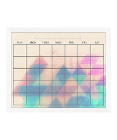 Take a look at this Diamonds Monthly Memo Board by PTM Images on #zulily today! $29.99, usually 80.00