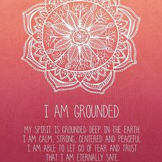 I+Am+Grounded+-+Root+Chakra