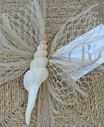 This seashell is a great yet inexpensive touch.