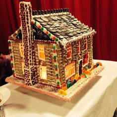 39 best gingerbread log homescabin images on pinterest in 2018 gingerbread houses from the 2013 christmas festivals gingerbread house competition boston seaport maxwellsz