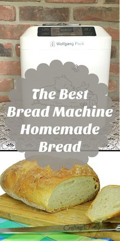 The Best Bread Machine Homemade Bread | My family loves the smell of fresh baked bread on a cool crisp fall afternoon. Make this dough in your bread machine and your family eat it before the next morning.