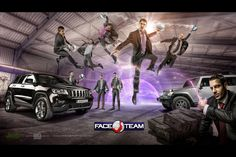Jeep - Braga - http://Weinersphoto.com  illustration for Face Team dunkers