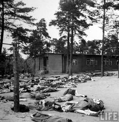 vintage everyday: The Liberation of Bergen-Belsen Concentration Camp – Incredible Photos Showing The Reality of The Death Camps at The End of WWII
