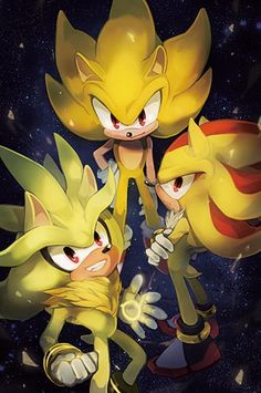 Super Sonic, Silver, & Shadow